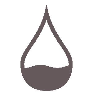 kropla krwi - ikona