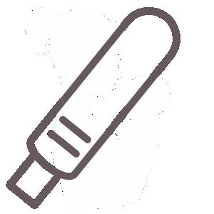 test ciążowy - ikona