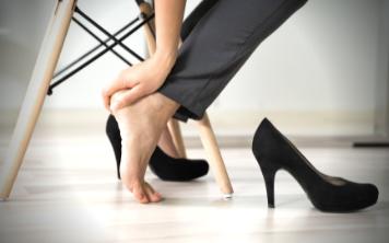 Biedne stopy, bolesne pęcherze…