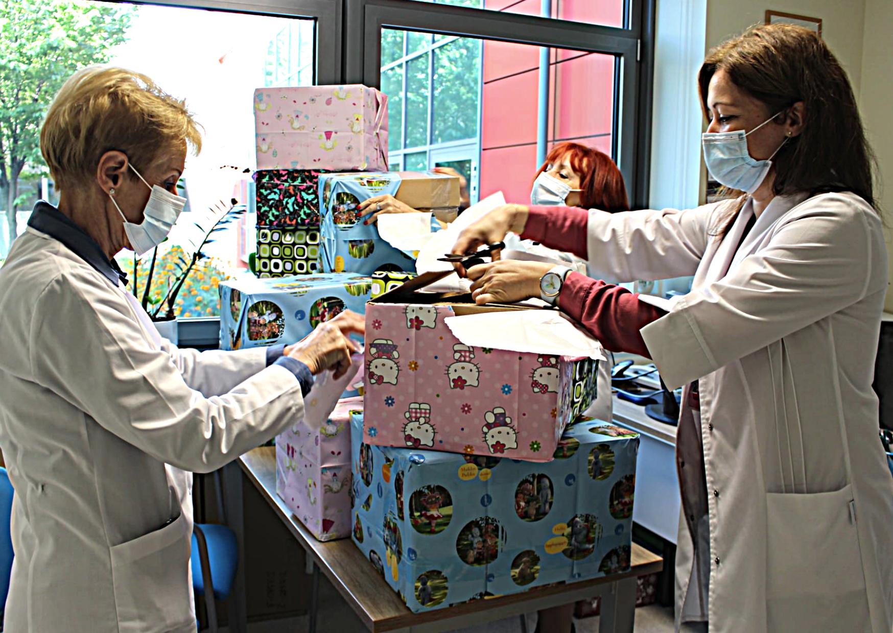 Nasza pomoc dla uczniów i przedszkolaków ze szpitala